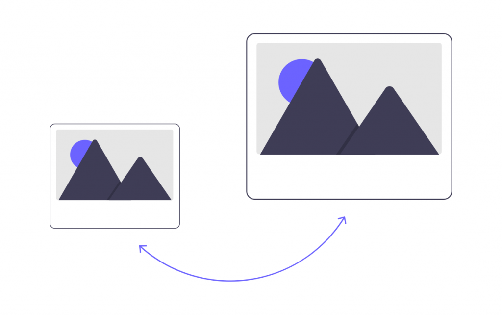 A / B testing of advertising images