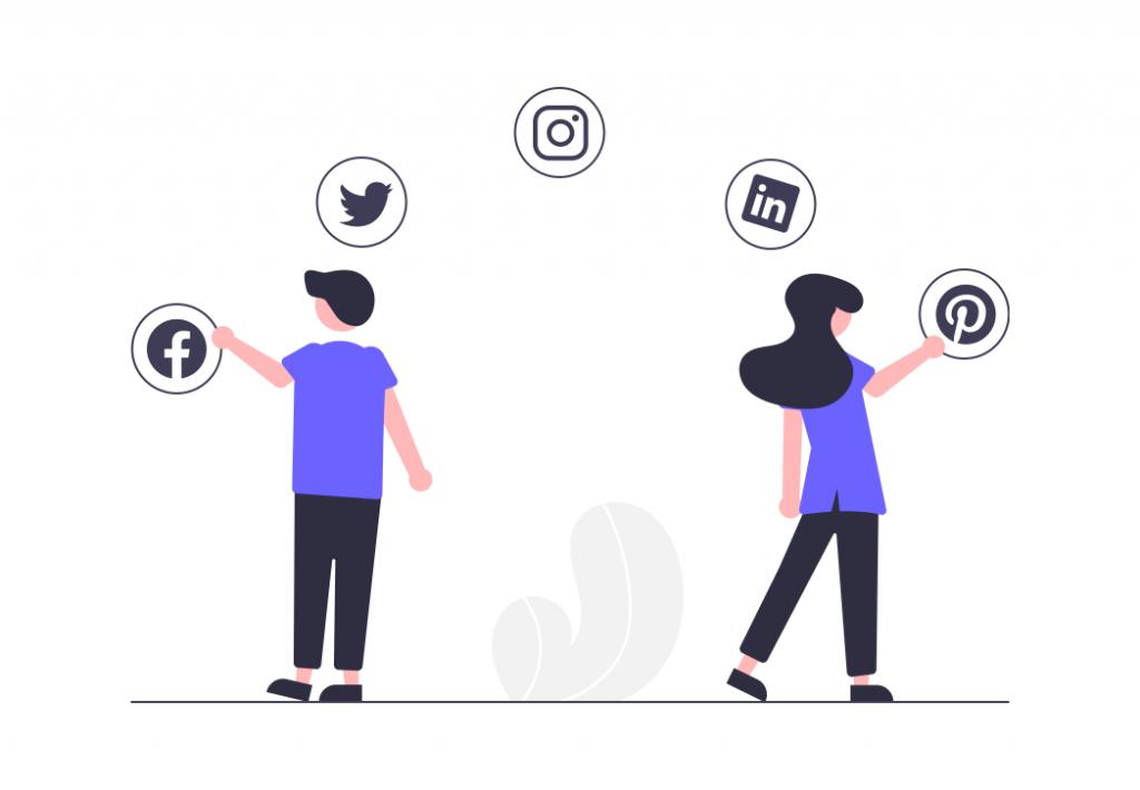 Utilization of social media